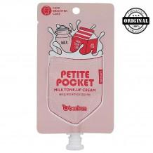 БР Pocket Крем для лица Petite Pocket milk tone up cream 30гр