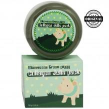 ЕЛЗ Green piggy Маска для лица коллагеновая Collagen Jella Pack 100гр