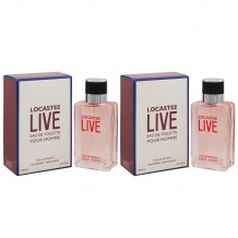 Набор Locatee Live Pour Homme, edp., 2*50 ml