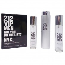 Carolina Herrera 212 VIP Man, 3*20 ml