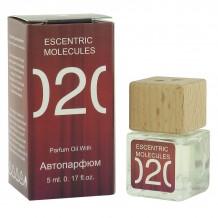 Автопарфюм Escentric Molecules 020 Унисекс, edp., 5 ml(красная)