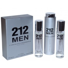 Carolina Herrera 212 Man, edt., 3*20 ml