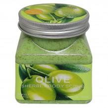 Скраб Wokali Olive Sherbet Body Scrub, 350 ml