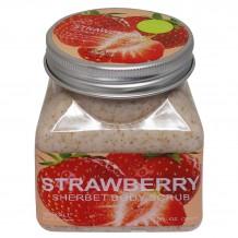 Скраб Wokali Strawberry Sherbet Body Scrub, 350 ml