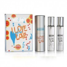 Moschino I Love Love, 3*20 ml