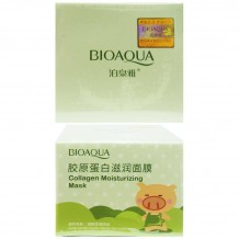 Пузырьковая Маска Bioaqua Collagen Moisturizing Mask